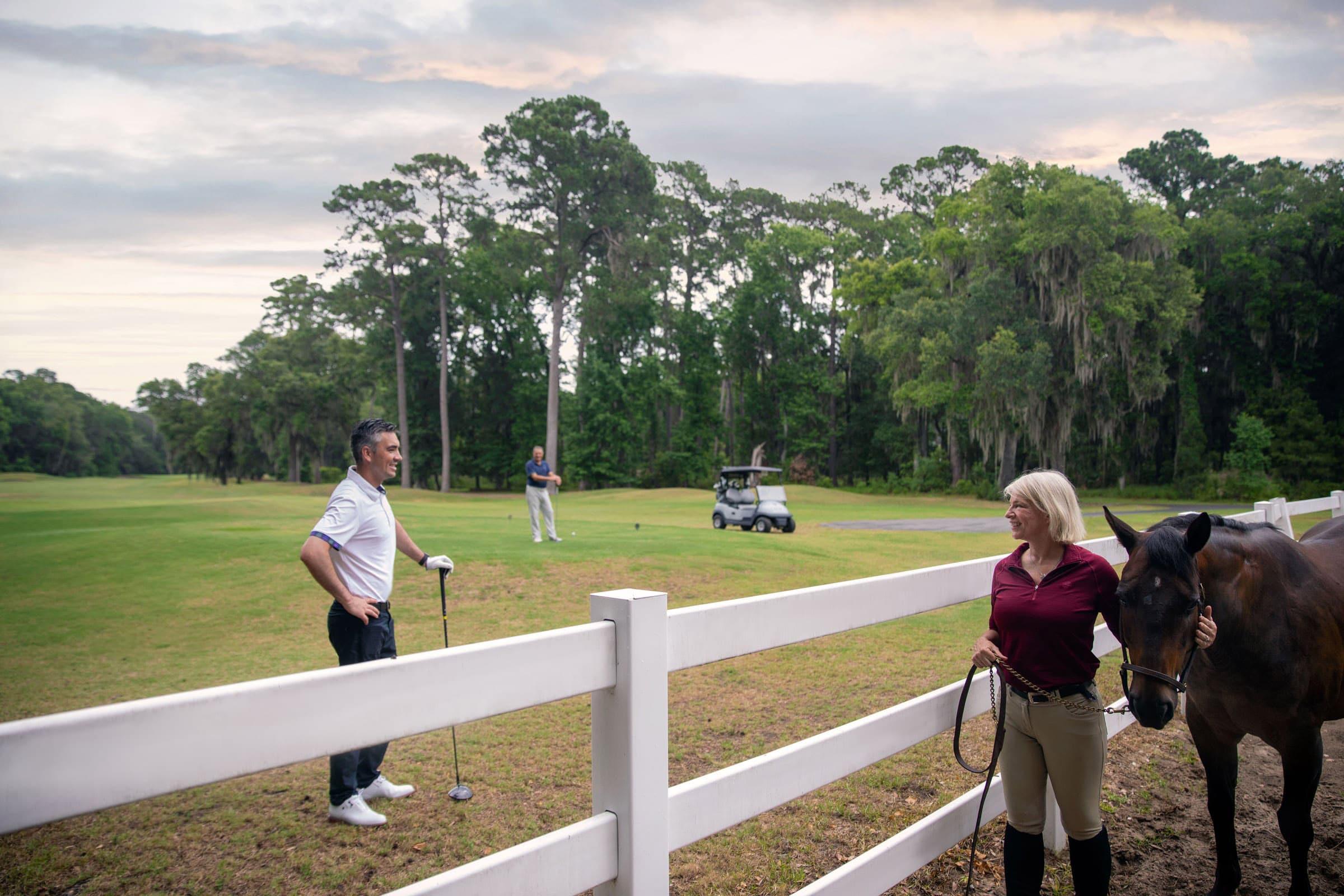 Equestrian Golf Course Haig Point