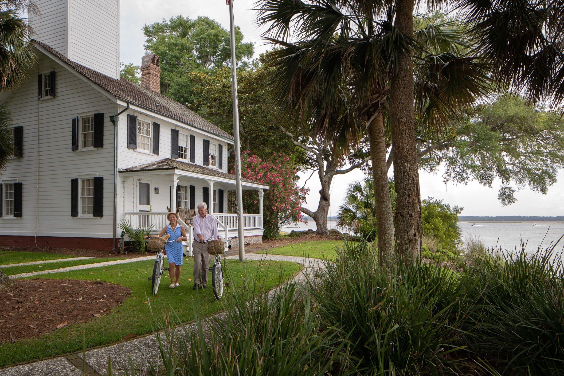 historic lighthouse Haig Point